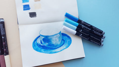 painting coffee cup