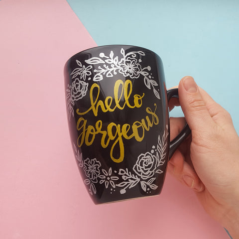 Decorating Diy Mug With Acrylic Paint Artistro Painting Guide