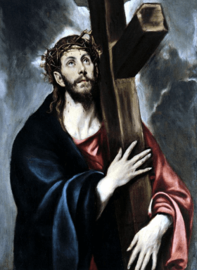 Christ Carrying the Cross byEl Greco (1580)