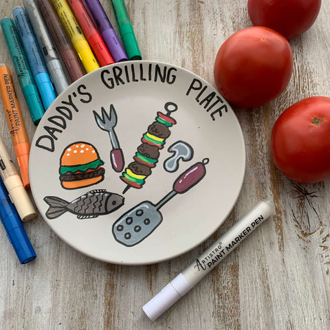 Grilling Plate for Father