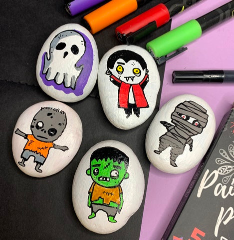 Monster Party Rock Painting ideas