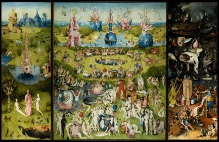 The Garden of Earthly Delights by Hieronymus Bosch (1500-1510)