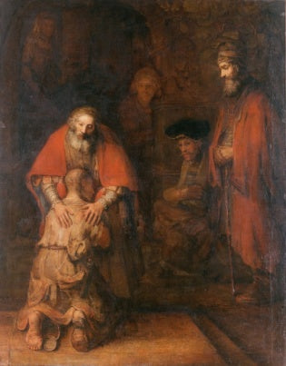 The Return of the Prodigal Son by Rembrandt van Rijn (1661–1669)