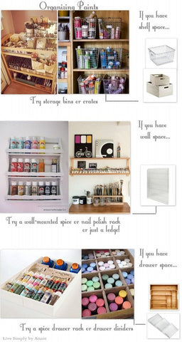 storage for art supplies
