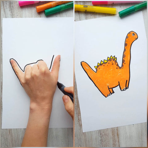 Something Cool To Draw On Your Hand