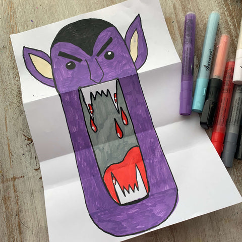 Brem Stoker Dracula drawing-things to draw