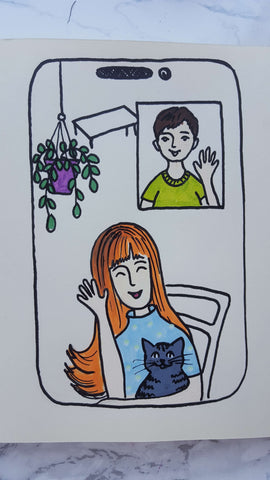 Love is in the air drawing-what to draw when bored