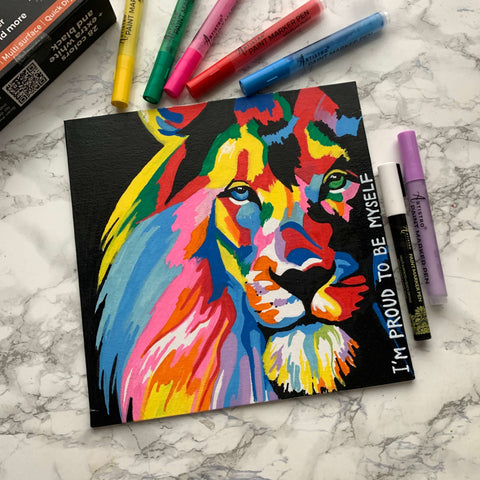Proud heart painting