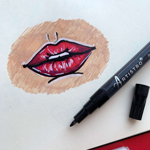 Inhale drawing-things to draw