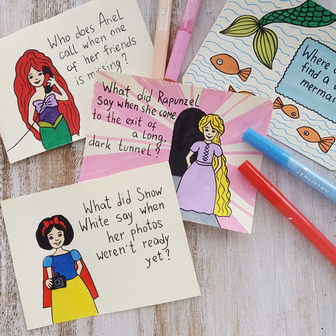 Princess hen-party drawing-things to draw