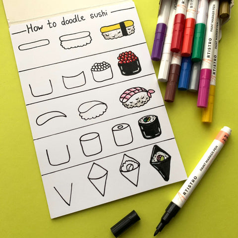 Easy Drawing Guide For Beginners How To Draw With Markers