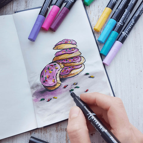Sweet installation painting-what to draw when bored