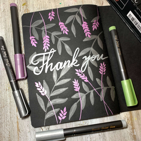 thanking you drawing