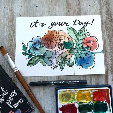 new day painting-things to draw