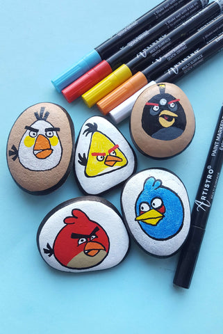 rock angry birds
