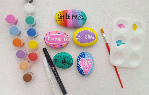 Kindness Rock Painting