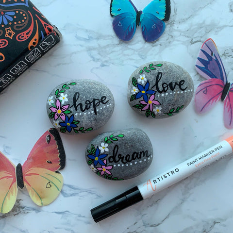 Hymn to the Kindness Rocks-love hope and dream Rock Painting ideas
