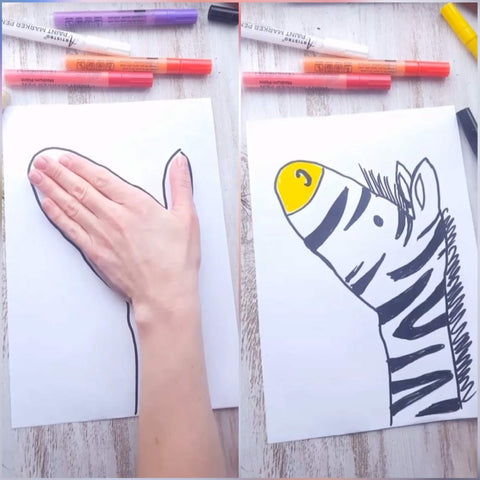 Hand Tracing Art Projects