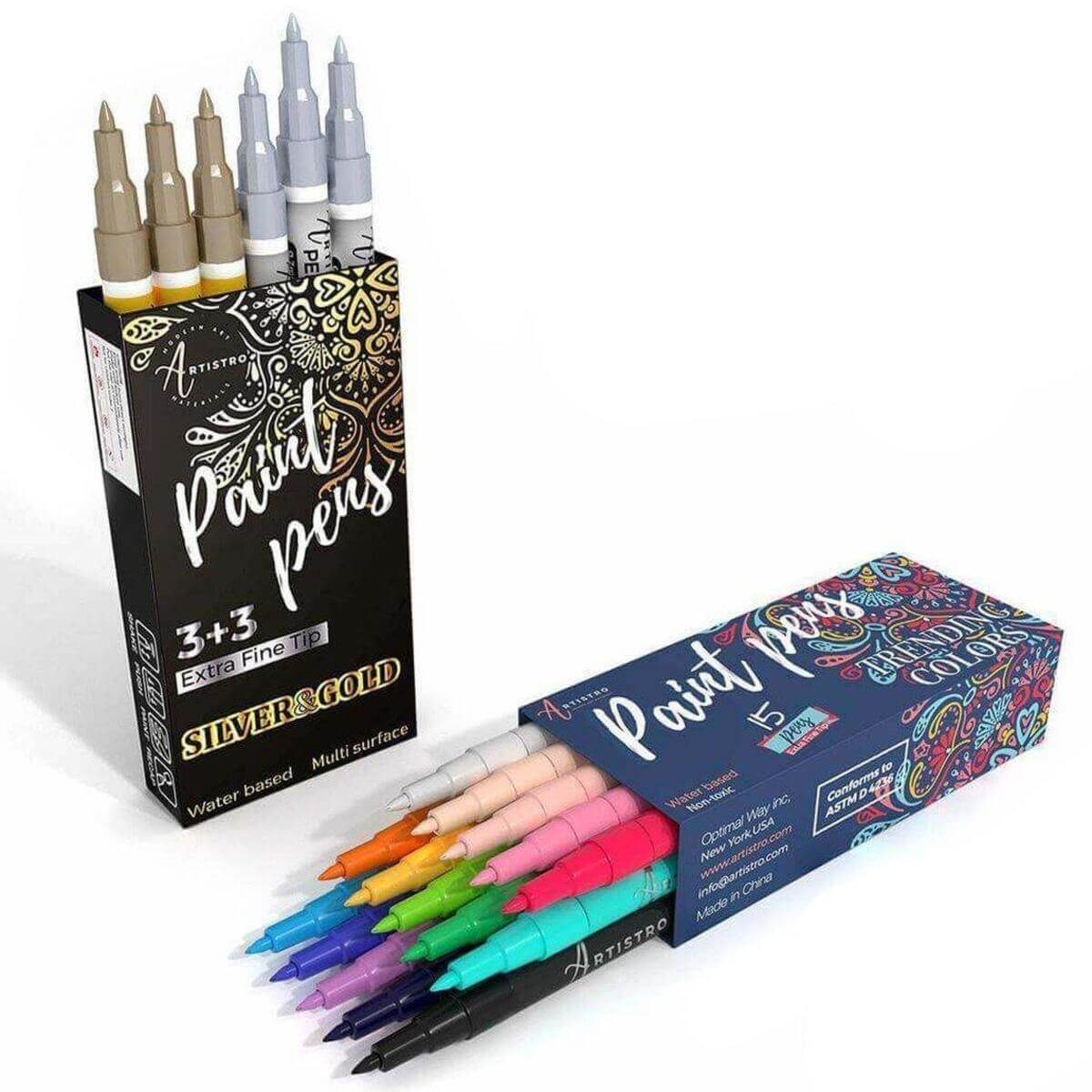 Acrylic Paint Pens Bundle