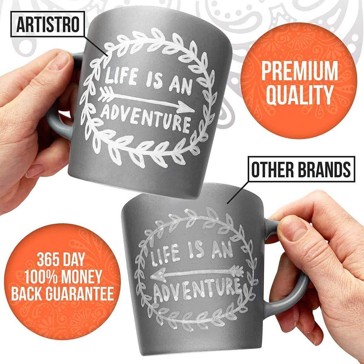 ceramic paint pens for mugs