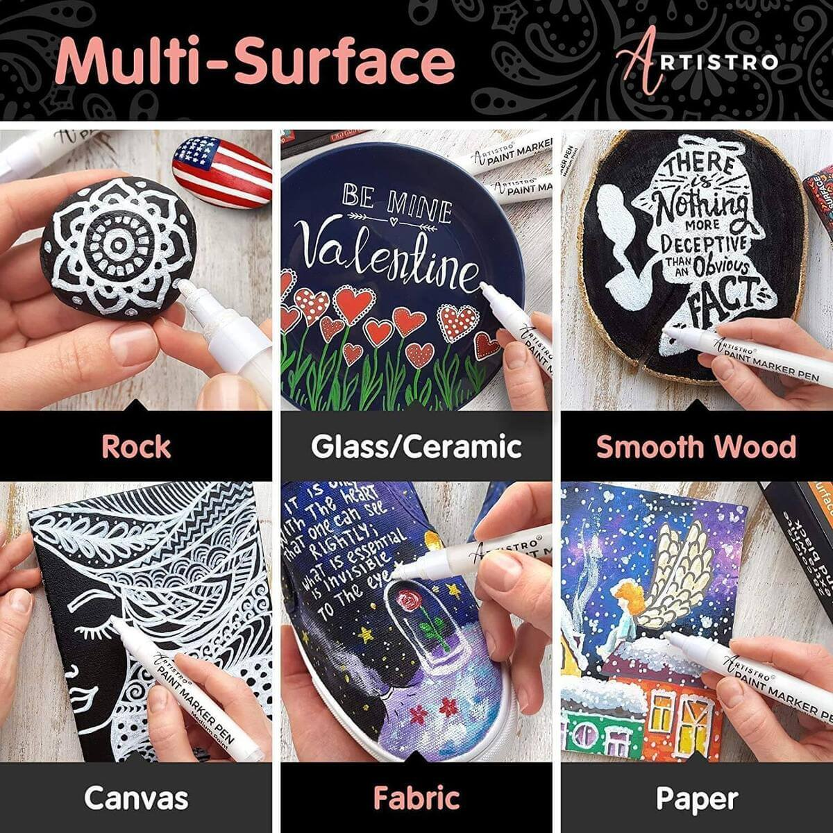 multi-surface paint pens