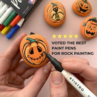 Markers for rock painting
