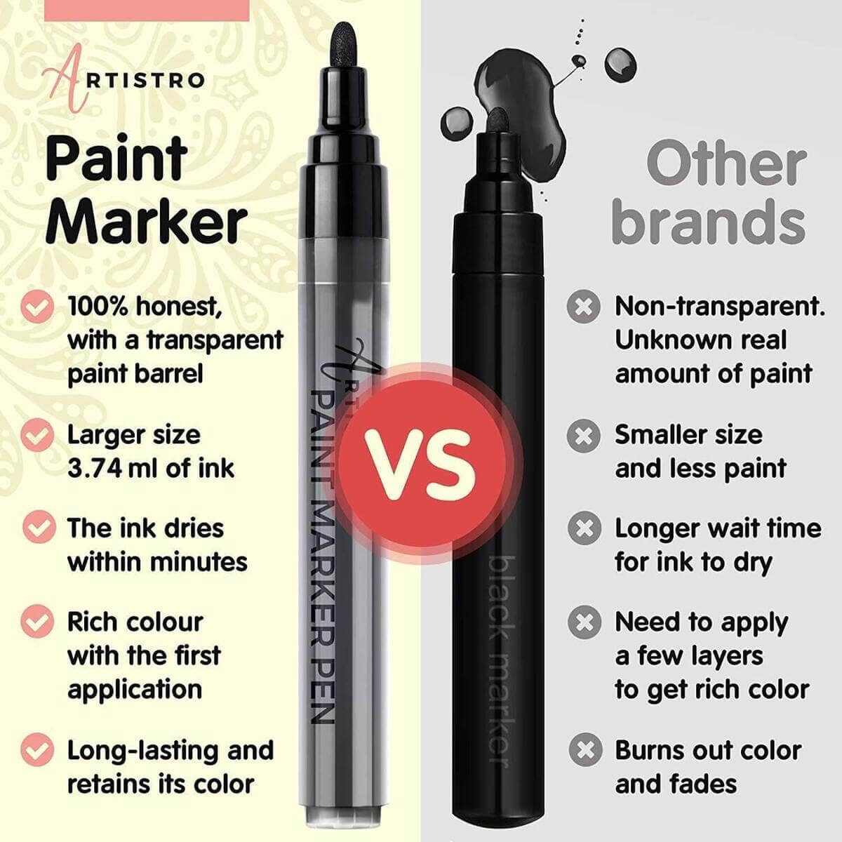 opaque paint markers