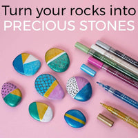 markers for stones