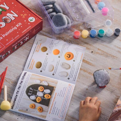 Ultimate Rock Painting Kit with 6 Artistro paint pens – for Kids Crafts & Adult Craft Kit - Artistro
