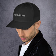 "Black ""I AM LIMITLESS"" Cap - Limitless Chiropractic"
