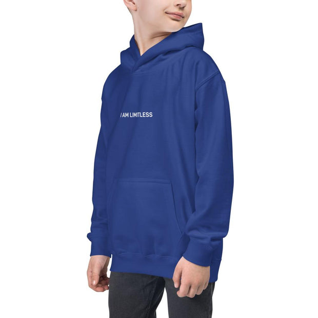 "Boys ""I AM LIMITLESS"" Kids Hoodie - Limitless Chiropractic"