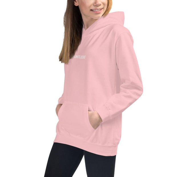 "Girls ""I AM LIMITLESS"" Hoodie - Limitless Chiropractic"