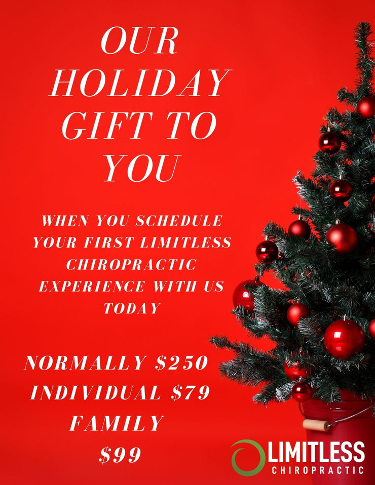 HOLIDAY SPECIAL FAMILY - Limitless Chiropractic