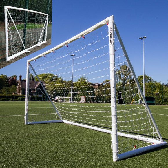 Quickplay Q-Fold 12 x 6ft Folding Football Goal - For Coaches Ltd