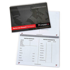 Precision A4 Football Referee Assessors Notebook - For Coaches Ltd