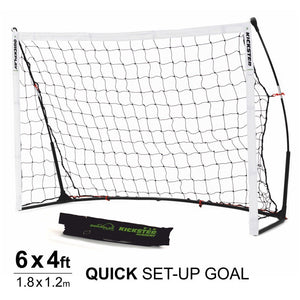 Quickplay Kickster Academy 6 x 4 ft Portable Football Goal - For Coaches Ltd
