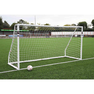 Precision Match Football 12ft x 6ft Goal Posts (BS 8462 approved) - For Coaches Ltd