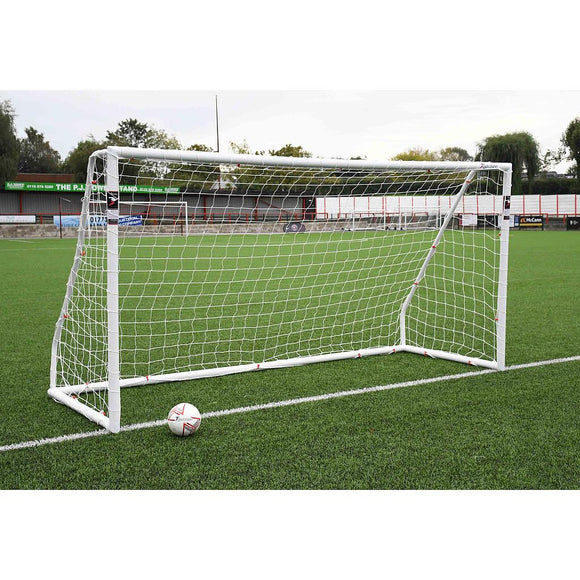 Precision Match 16ft x 7ft Football Goal Posts (BS 8462 approved) - For Coaches Ltd