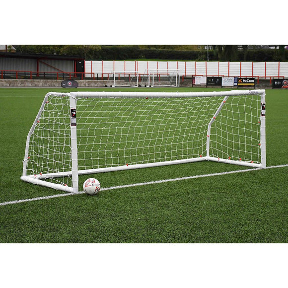 Precision Match 12ft x 4ft Football Goal Posts (BS 8462 approved) - For Coaches Ltd