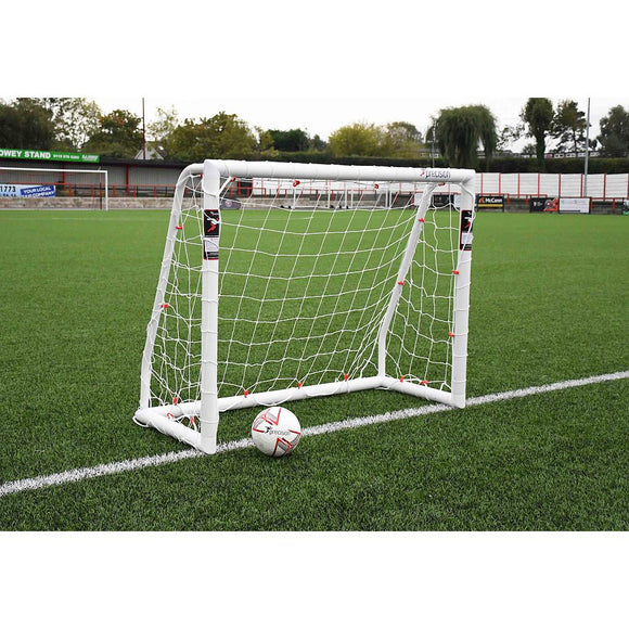 Precision Match 5ft x 4ft Football Goal Posts (BS 8462 approved) - For Coaches Ltd