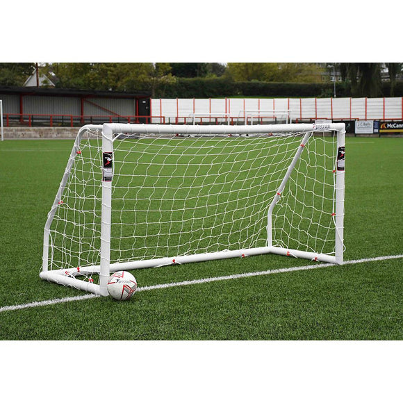 Precision Match 8ft x 4ft Football Goal Posts (BS 8462 approved) - For Coaches Ltd