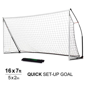 Quickplay Kickster Academy 16 x 7 ft Portable Football Goal - For Coaches Ltd