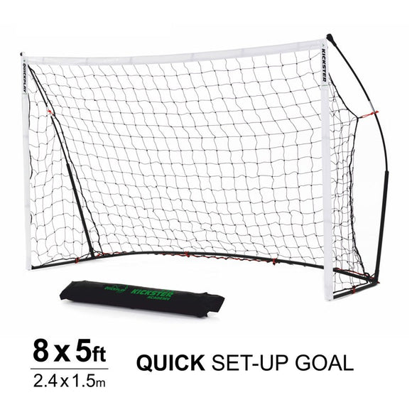 Quickplay Kickster Academy 8 x 5 ft Portable Football Goal - For Coaches Ltd