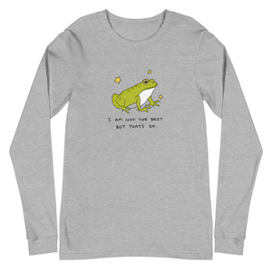 "Froggy ""Not The Best"" Long Sleeve Tee"