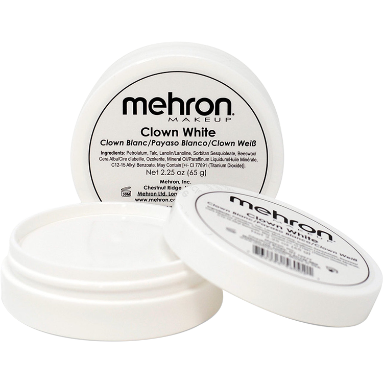 Mehron Clown White 2 oz - The Make Up Center