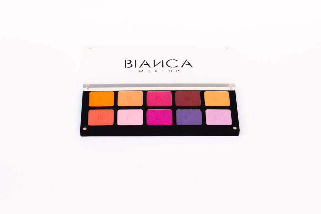 "Bianca Makeup Paleta De Sombras Mate y Satinada "" Date"" - The Make Up Center"