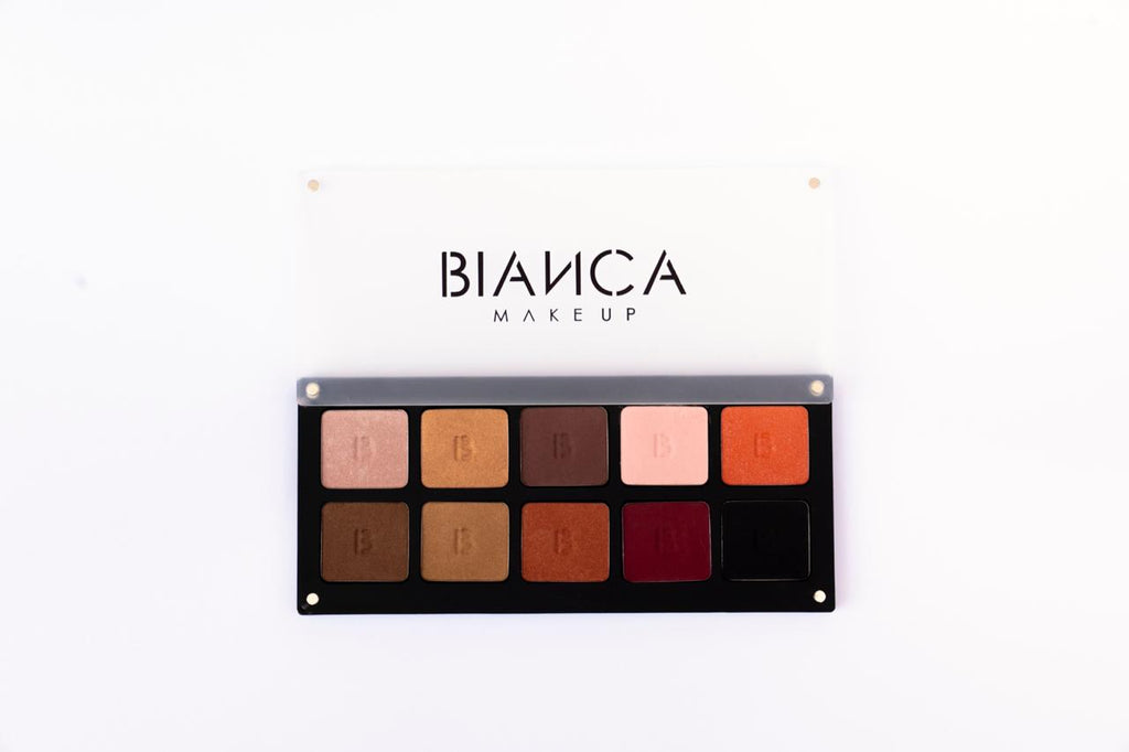 "Bianca Makeup Paleta De Sombras Mate y Satinada "" Glam"" - The Make Up Center"
