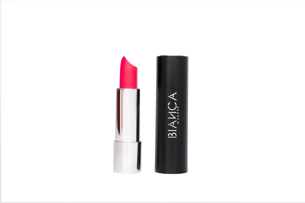 Bianca Makeup Labial en Barra Mate Color Dolce Pink - The Make Up Center
