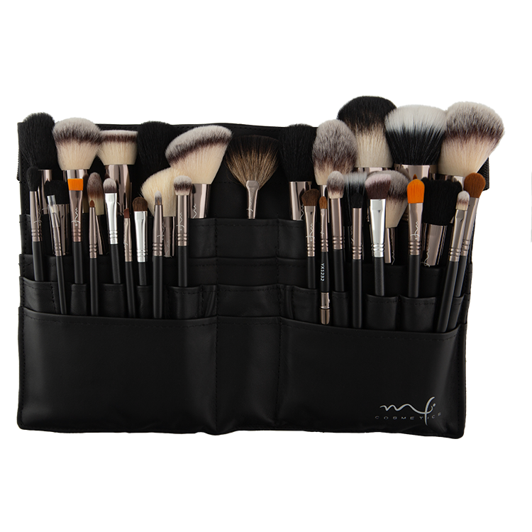 Mf Cosmetics Kit 34 Brochas Profesionales - The Make Up Center