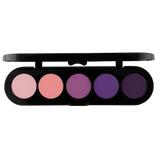Atelier Paleta de 5 Sombras T09 (Shiny Pink Violet) - The Make Up Center